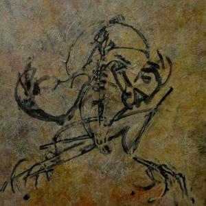 mesozoic frog